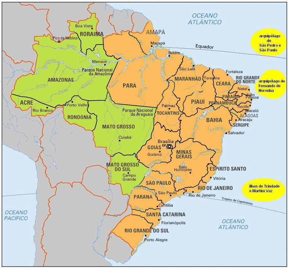 Uber Den Stand Der Brasilien Geschichte Geographie Wahrzeichen