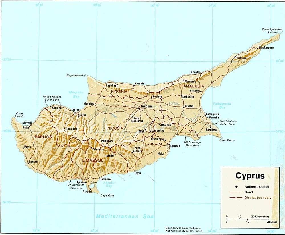 Cyprus Travel Information Cyprus Country With A