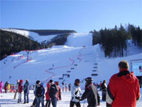 Ski resort of Spindleruv Mlyn