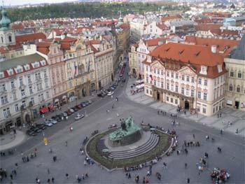 Old ploschad.Praga