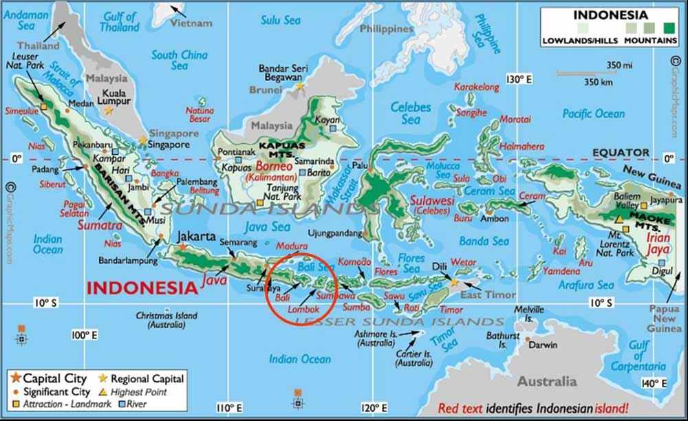 Maluku ıslands Maps ındonesia Guide -- Map Of