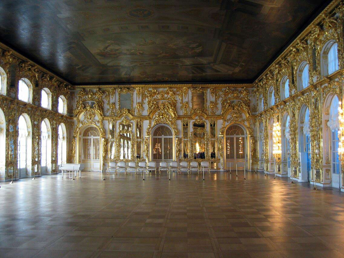 Pushkin Catherine Palace Tsarskoye Selo The Suburb Of